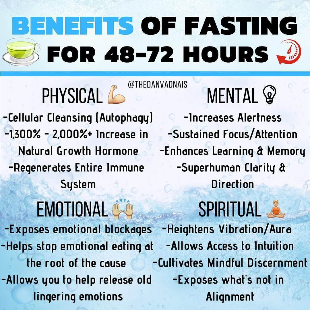 Benefits of Fasting When I discovered that our digestive