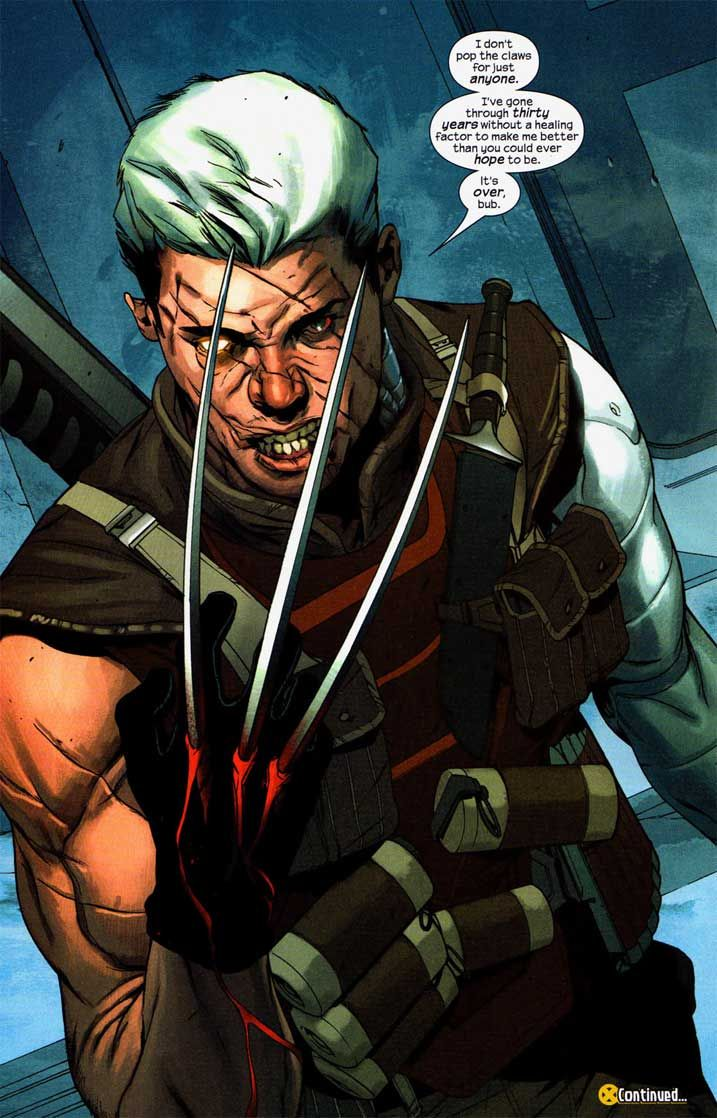 Cable From X Men Ultimate Cable From Ultimate X Men 75 By Ben Oliver Ben Oliver