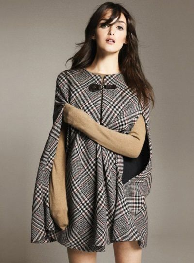 Zara 2011, nice tartan robe