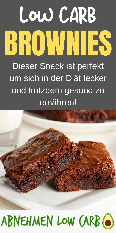 Low Carb Schoko-brownies - zum Abnehmen - Abnehmen Low Carb
