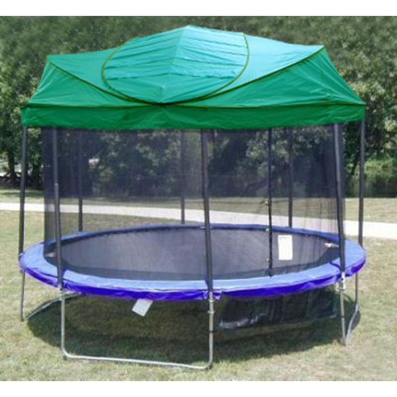 New Universal Trampoline Canopy Roof For All Major Brands Canopy Bedroom Backyard Trampoline Canopy Outdoor