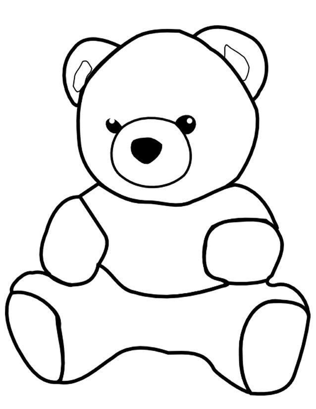 Orsetto con cuore da colorare tuttodisegnicom bimbi coloring - Coloriage minnie jouet ...