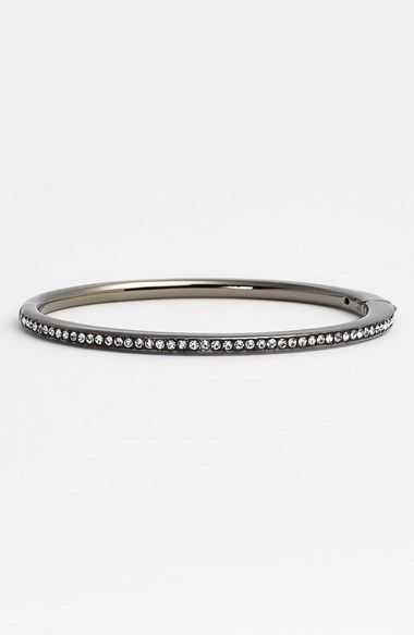 Nadri Channel Set Crystal Hinged Bangle (Nordstrom Exclusive) on shopstyle.com
