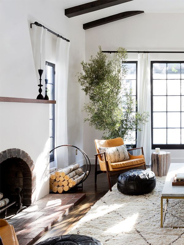 Cozy Living Rooms That Will Make You Want to Curl Up Fireside This
