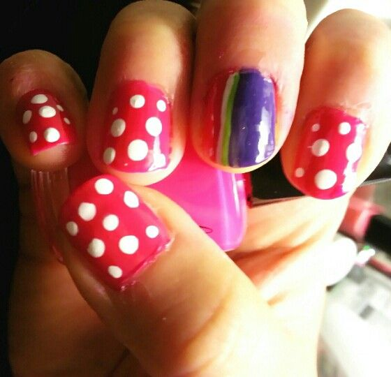 Nail idea by Cherrybelle♡♡