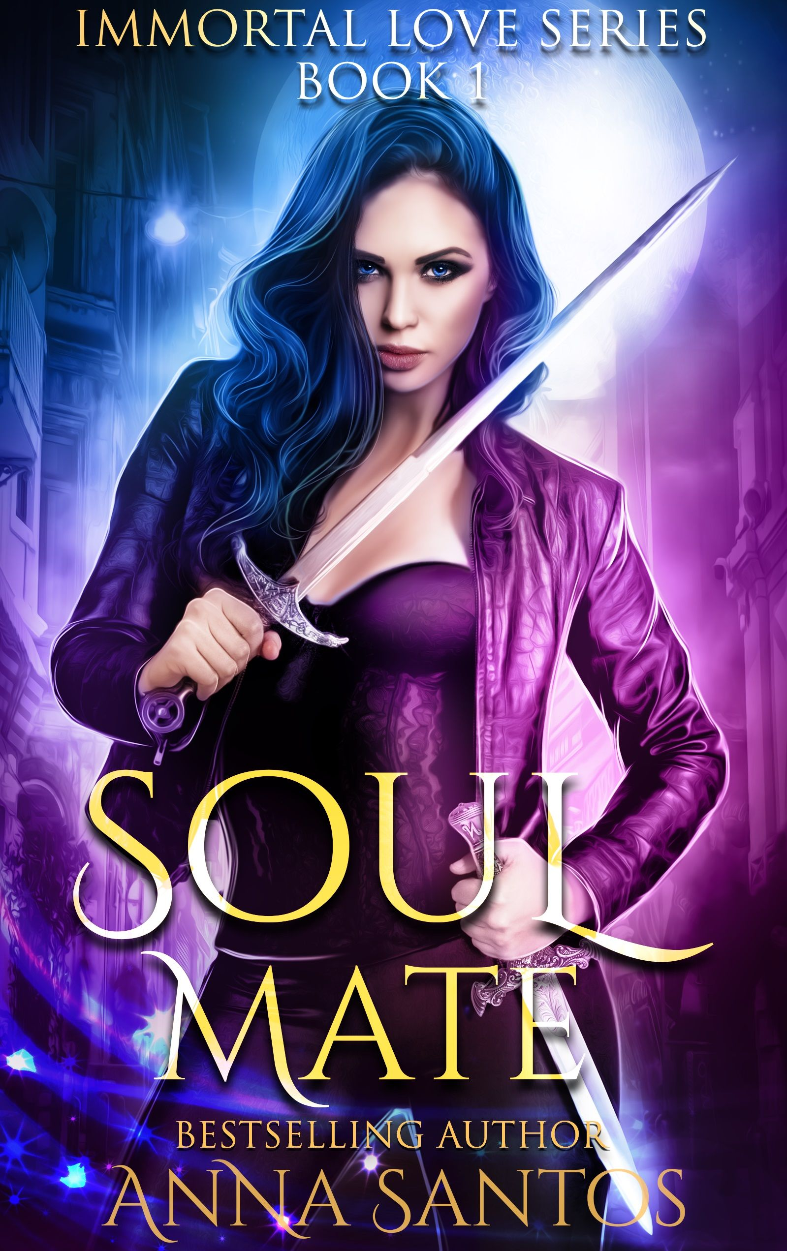 Soul mate by anna santos spellbinding paranormal romance free soul mate the immortal love series book 1 by anna santos genre paranormal romance urban fantasy annabel is a bad ass hybrid hunter seeking revenge fandeluxe Image collections