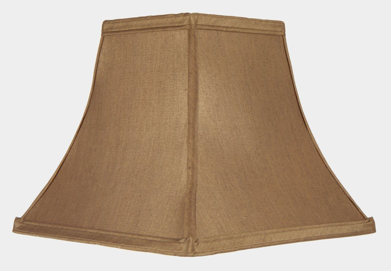 Upgradelights 8 Inch Clip On Square Bell Candlestick Replacement Lamp Shade In Bronze Silk Click Image For More Det With Images Replacement Lamp Shades Lamp Shade Lamp