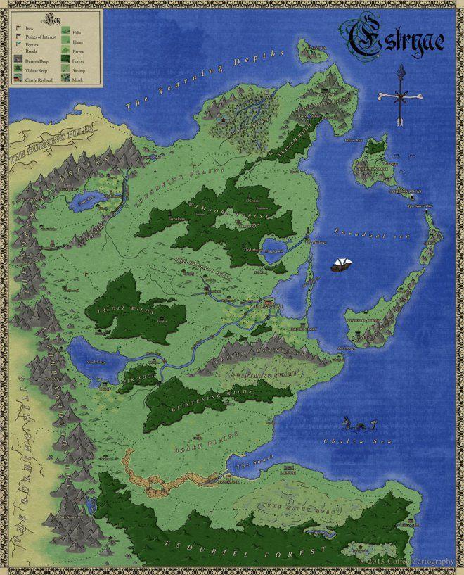 Estryae In 2020 Map Layout Fantasy Map Map