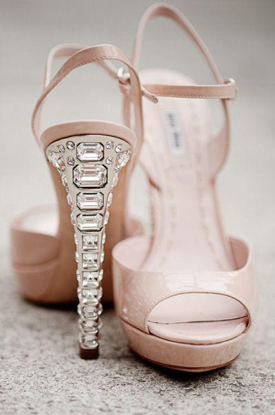 c420d244c7 Miu Miu nude sandals with crystal heel