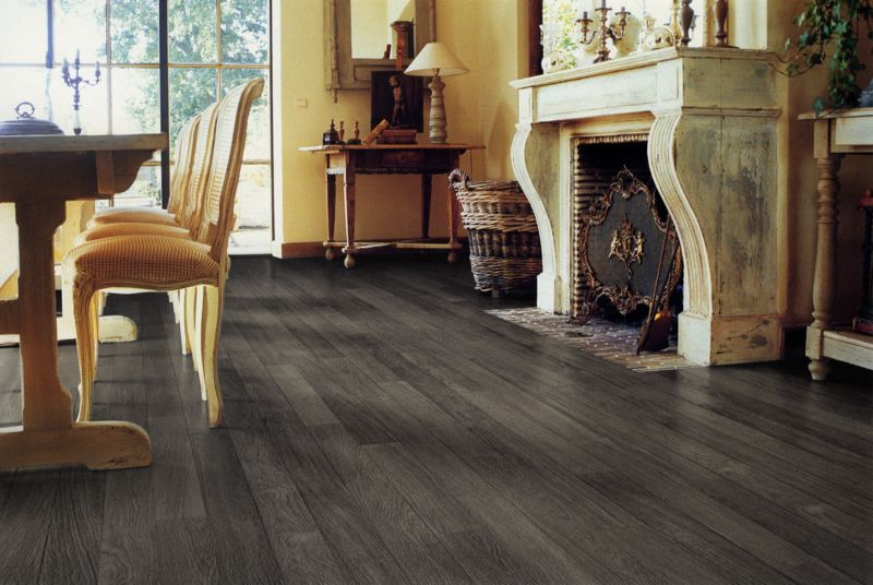 white and gray wood floors with natural oak cabinets | Quick Step Grey  Vintage Oak Planks - White And Gray Wood Floors With Natural Oak Cabinets Quick Step