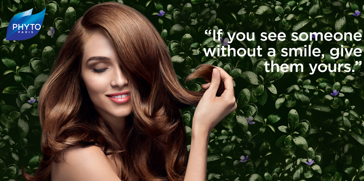 Great hair starts here with PHYTOphanere