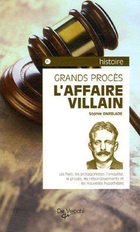 Télécharger Livre L'Affaire Villain Ebook Kindle Epub PDF Gratuit