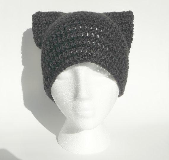 Cat Hat Crochet Pattern Crochet Cat Hat Baby Cat Hat Pattern Etsy Crochet Animal Hats Cat Ear Hat Pattern Crochet Cat Hat