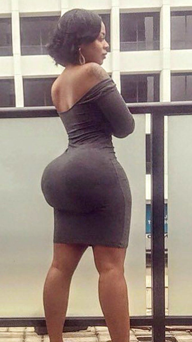 Sexy black women with big butts