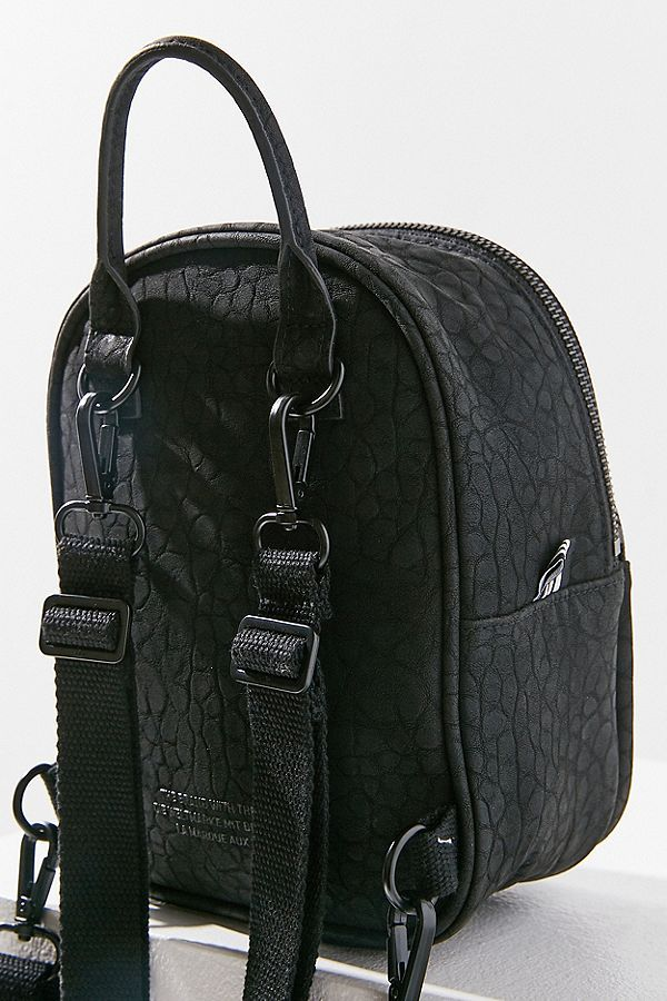 e3984aa7ad2c Slide View 6 adidas Originals Classic Mini Faux Leather Backpack  4b753c6291ba8 ...