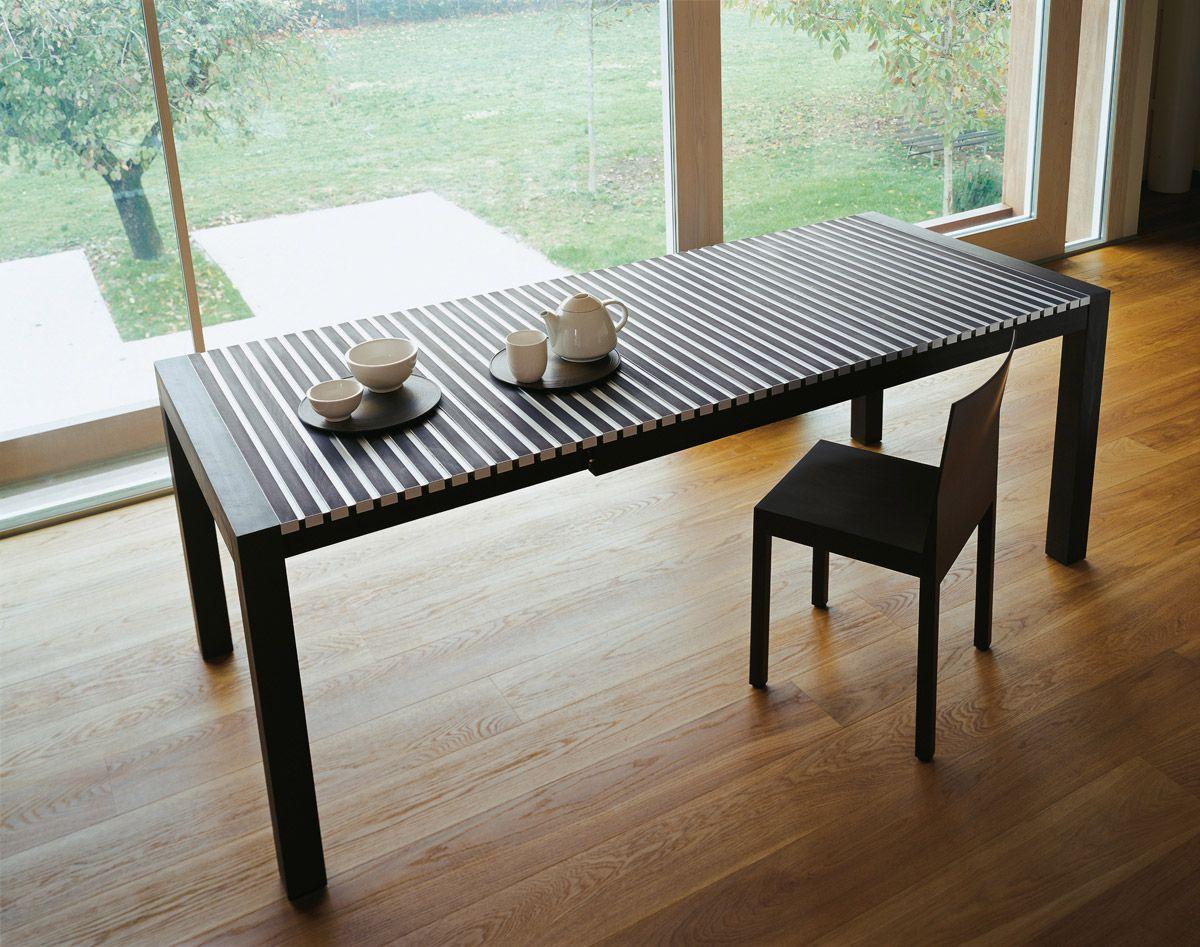 ASTOR extendable table by Horm - design Gaspardo ⁄ Graphite Design ⁄ StH, 2002 www.horm.it