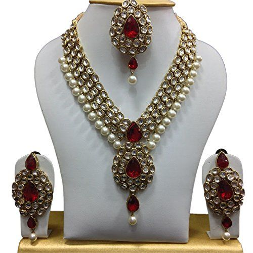 Vvs Jewellers Traditional Indian Bridal Kundan Necklace S... http://www.amazon.in/dp/B01IY3CTHQ/ref=cm_sw_r_pi_dp_x_7GyOyb1TNK3MZ