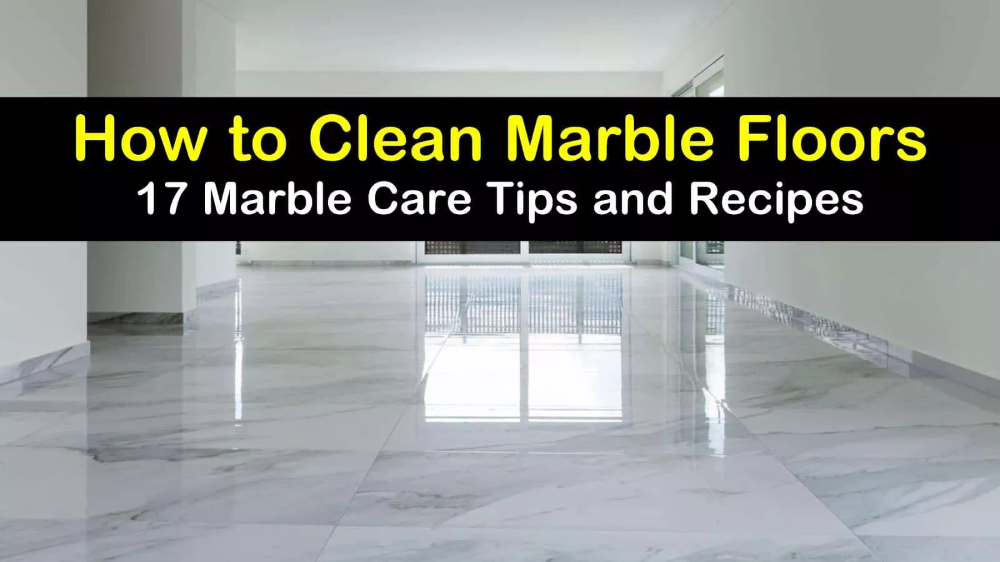 17 Clever Ways To Clean Marble Floors Marble Floor Cleaning