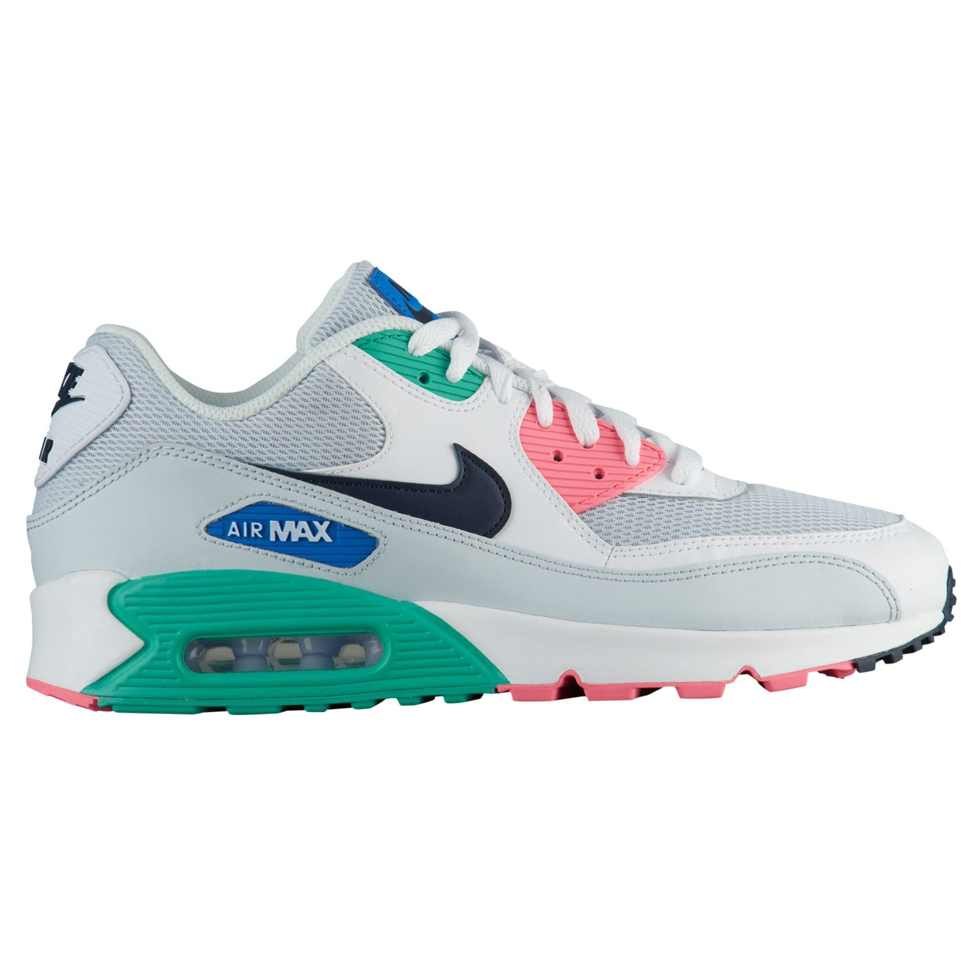 new product f89cd 3751a Nike Air Max 90 - Men's - Casual - Shoes - White/Obsidian ...