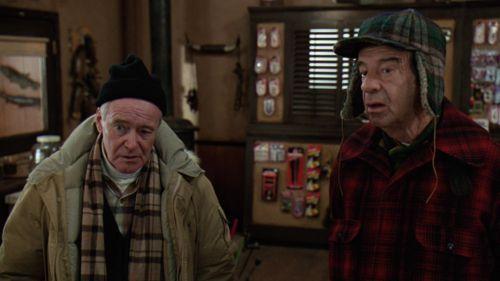 JACK LEMMON AND WALTER MATTHAU IN GRUMPY OLD MEN