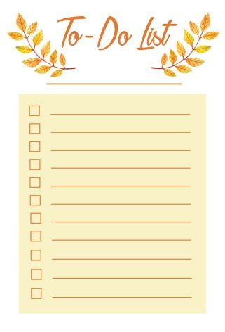 Free Printable ToDo List  Free Printable Planners And Free
