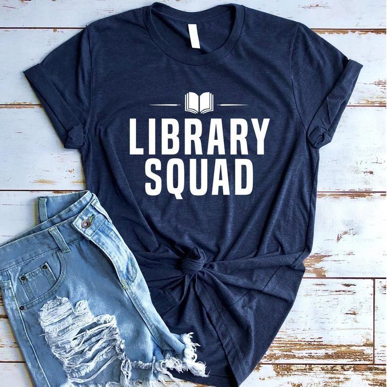 Library Squad Shirt, Librarian Shirt, Funny Librarian Shirt, Book Lover, Librarian Gift, Library  #dentalassistant