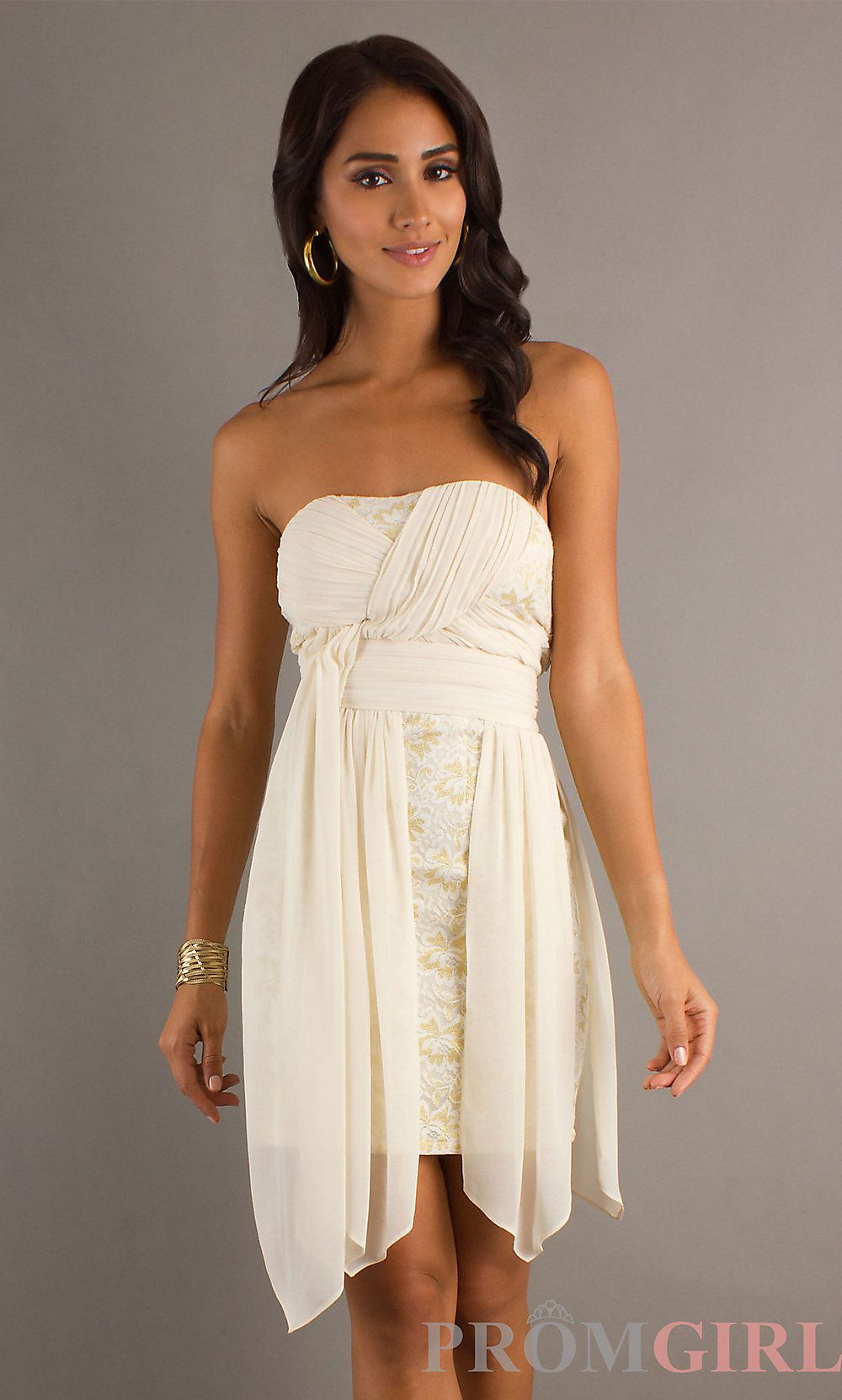 Frontview dress of a different color pinterest dress ideas