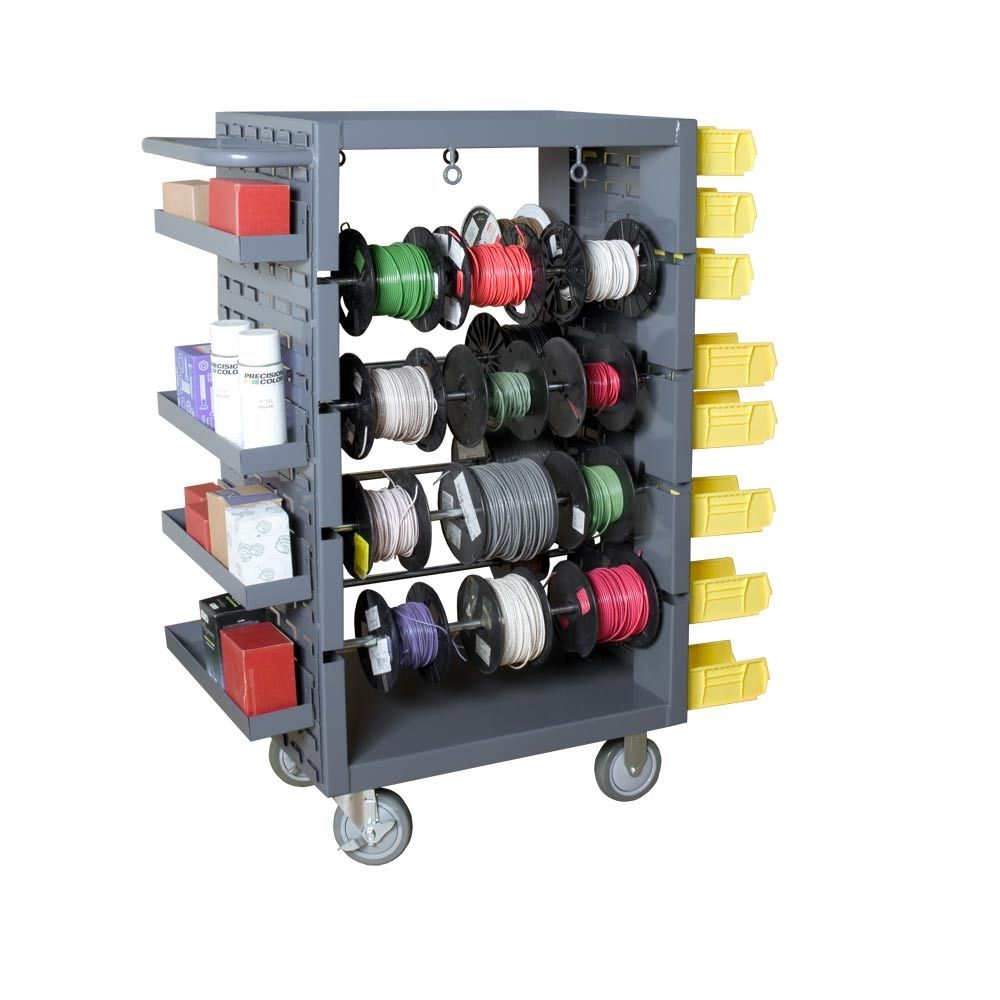 Electrical Wire Spool Rack Wall Mount - WIRE Center •