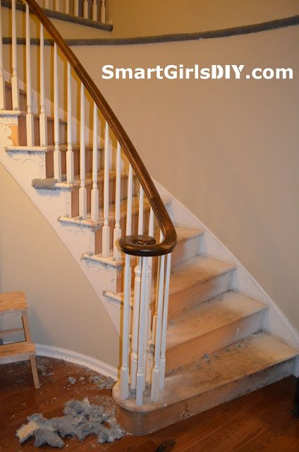 Best Smart Girls Diy Carpet Totally Removed From Stairs 400 x 300