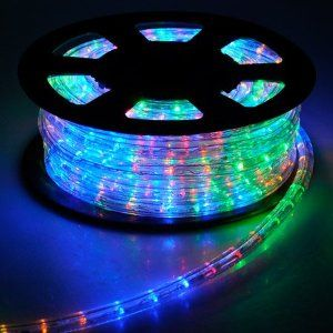 Christmas Xmas New Year Lighting LED Rope Light MultiColor W Connector *  Check This Awesome Product By Going To The Link At The Image.