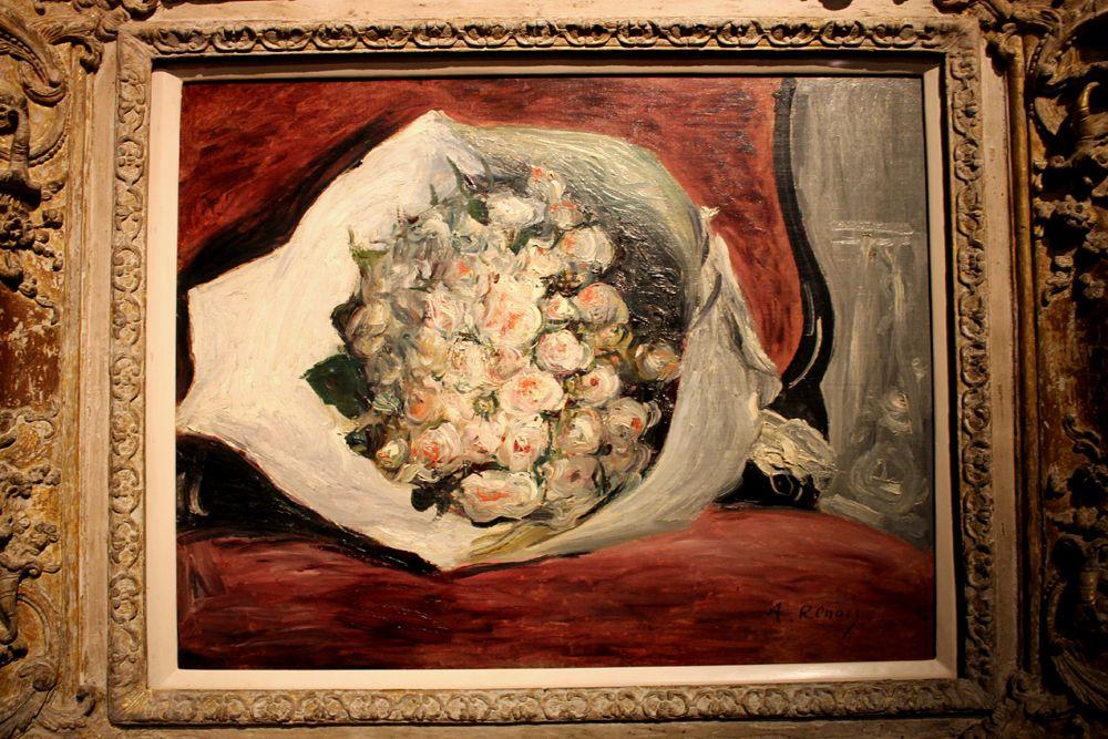 Mazzo Di Fiori Su Una Sedia Renoir.Renoir Mazzo Di Fiori Su Una Sedia 1878 1880 Con Immagini
