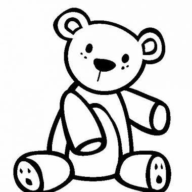 osos de peluche para dibujar diferentes | Dibujos para pintar ...