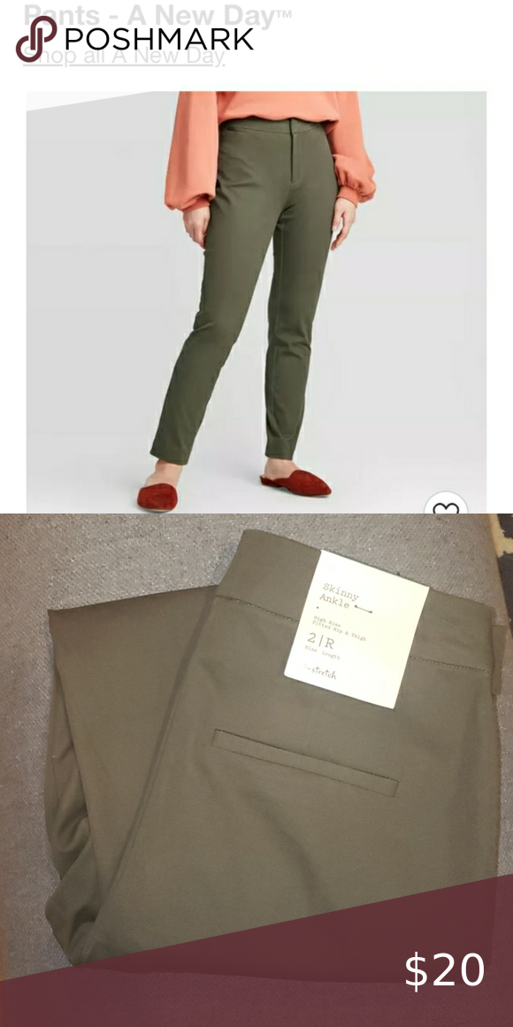 NWT Skinny Ankle Dress Pants