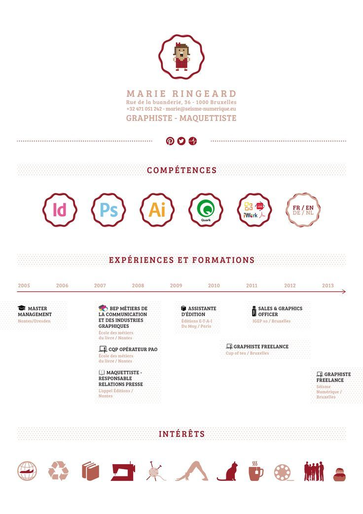 Pin by Dina on Resume Resume design creative, Creative