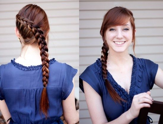 Katniss Braid- Step-by-step directions!