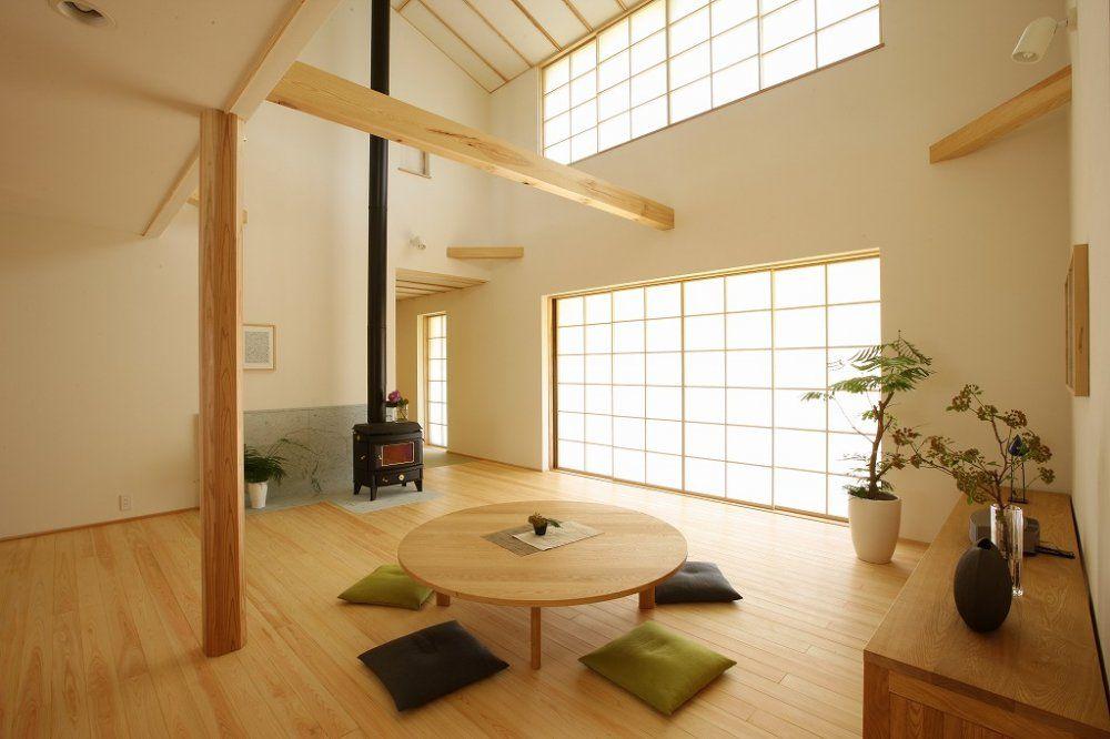 内装 大壁仕上げ 家 木の家 内装