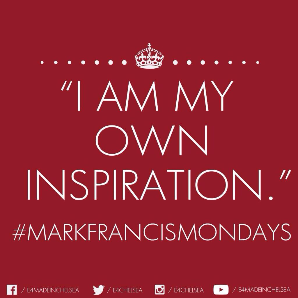 I am my own inspiration  Inspirational quotes, Made in chelsea