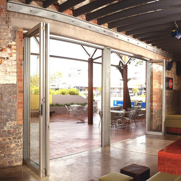 Eclipse Architectural Commercial Exterior Folding Door Application ...