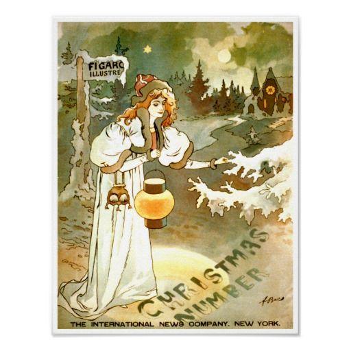 Illustre ~ Vintage Magazine Publication Ad Posters from Zazzle.com