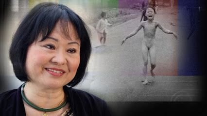 Kim Phuc's (52)  an iconic photo from the Vietam War. 1972. Now she lives in near Toronto as a wife, mother and UN ambassador for peace.