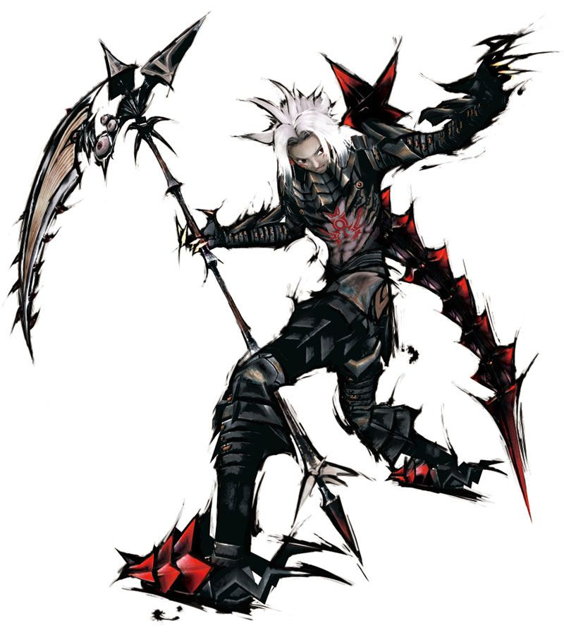 haseo with scythe there is a reason why he is my profile