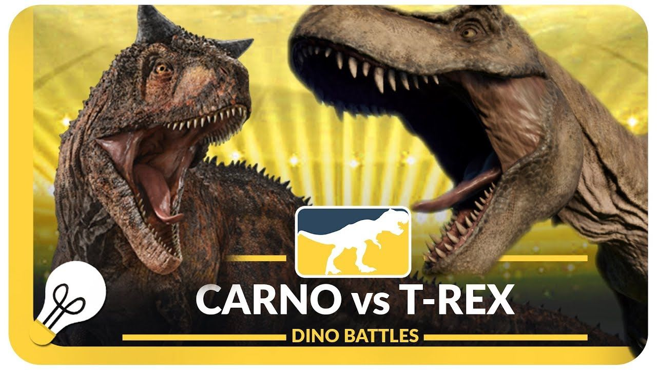 Carnotaurus Vs T Rex Rex, Jurassic world, Battle