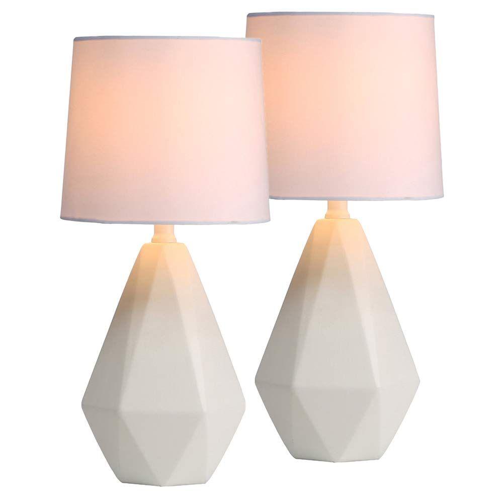 Sottae Modern Ceramic Small White Irregular Geometric Livingroom