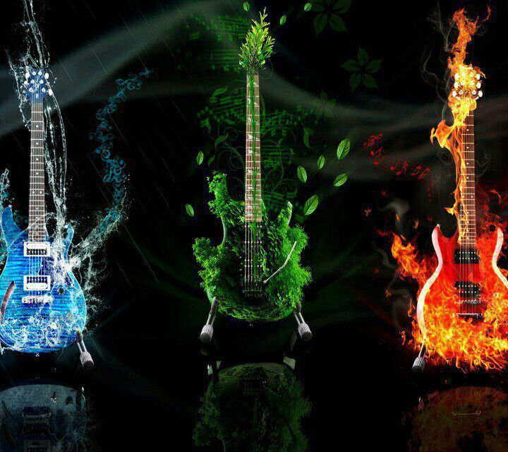 Thw Sound Of Music Music Guitar Music Backgrounds