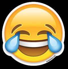 Face With Tears Of Joy Emoji Stickers Emoji Imagens De Emoji Whatsapp Png