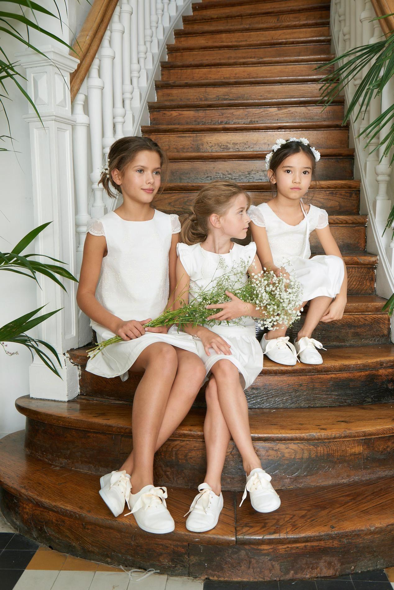 Jacadi Bonpoint Zara Jolies Tenues De Cortege Pour Enfants D Honneur Madame Figaro Robe Fillette Mariage Cortege Mariage Robe Enfant Mariage