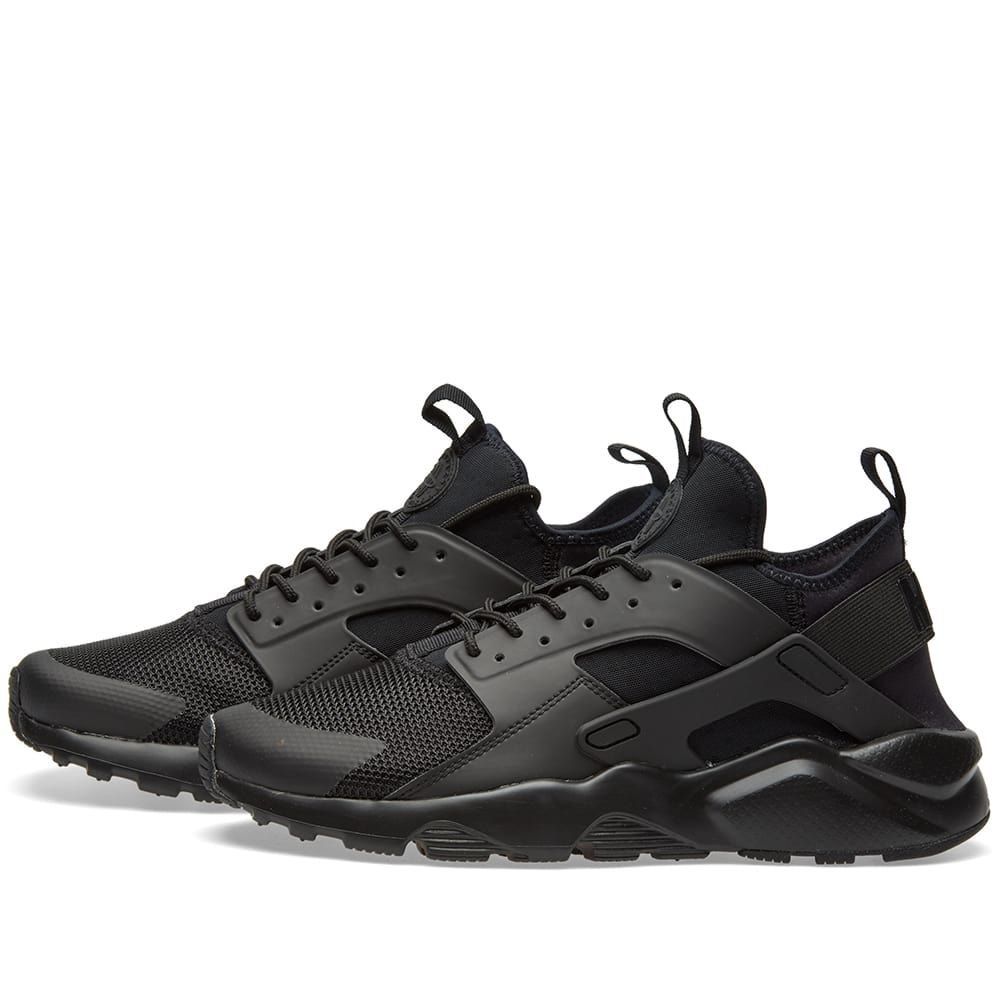 bc244cf731d6 ... aliexpress nike air huarache run ultra triple black 2 cb134 c070c