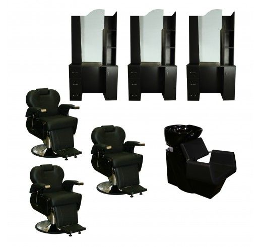 3 Station Packages   Barber Shop Packages   Package Deals · Salon  EquipmentPackage ...