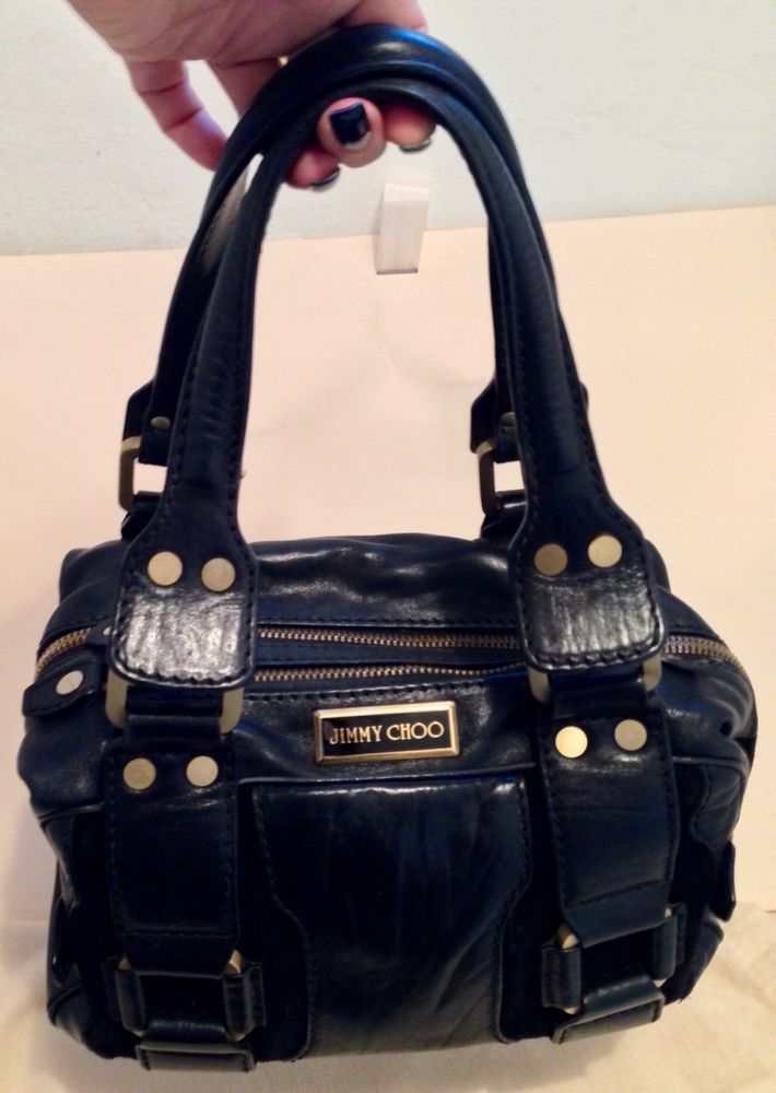 Jimmy Choo Maisie Black Bag Ebay