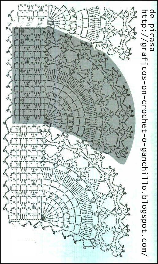 TEJIDOS A CROCHET - GANCHILLO - PATRONES: BUFANDA TEJIDA | Diagramas ...